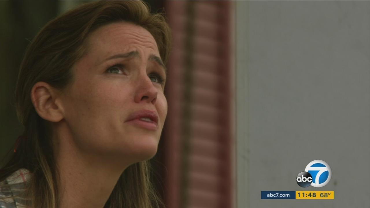 Jennifer Garner, who portrays Christy Beam in Miracles from Heaven, is shown in a still from the film.