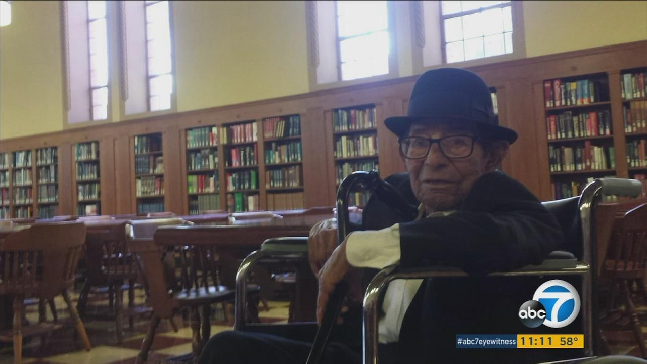 Alfonso Gonzales, a 96-year-old World War II veteran, will become the oldest graduate from the University of Southern California.