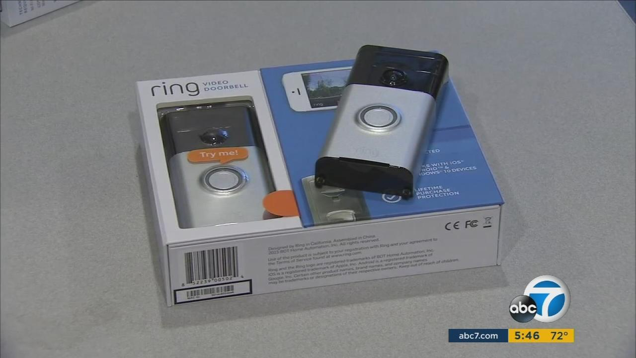 Ring donated 500 video doorbells to Los Angeles homeowners to demonstrate their potential to reduce burglaries.