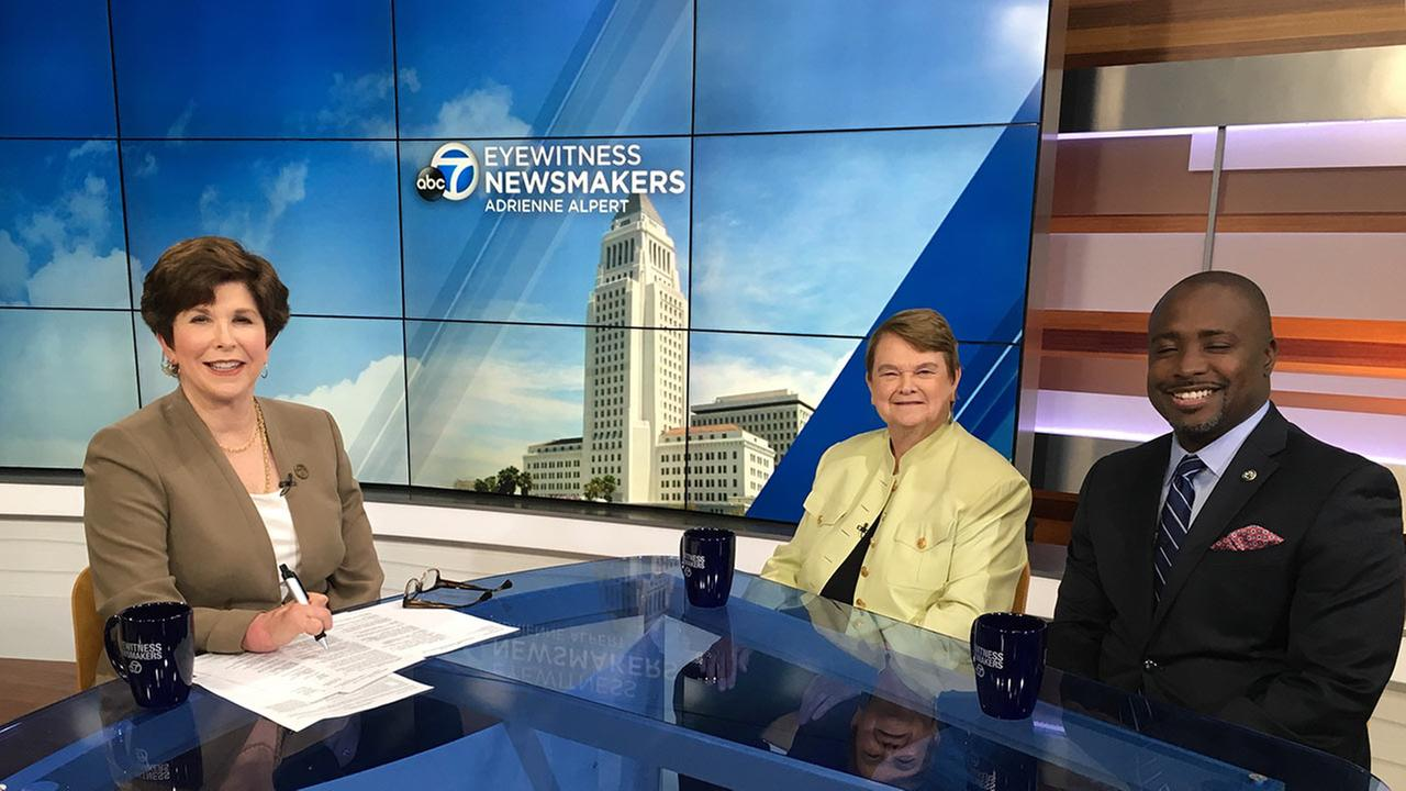 Eyewitness Newsmakers tackles the homeless crisis in a round table discussion with the city and county leaders on the issue.