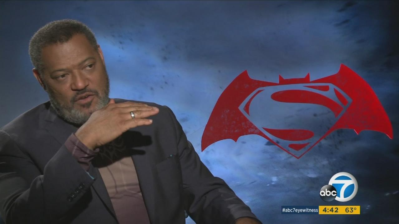 As a comic-book fan, Laurence Fishburne has been waiting a long time for Batman vs. Superman.