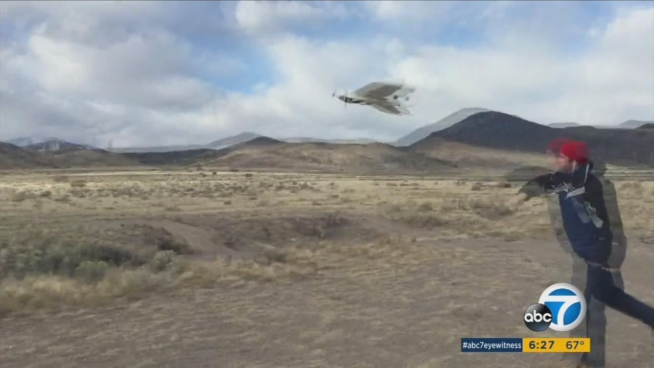 The Riverside County Sheriffs Department is looking to cut down on the time it takes to find people during search and rescue missions by using drones.