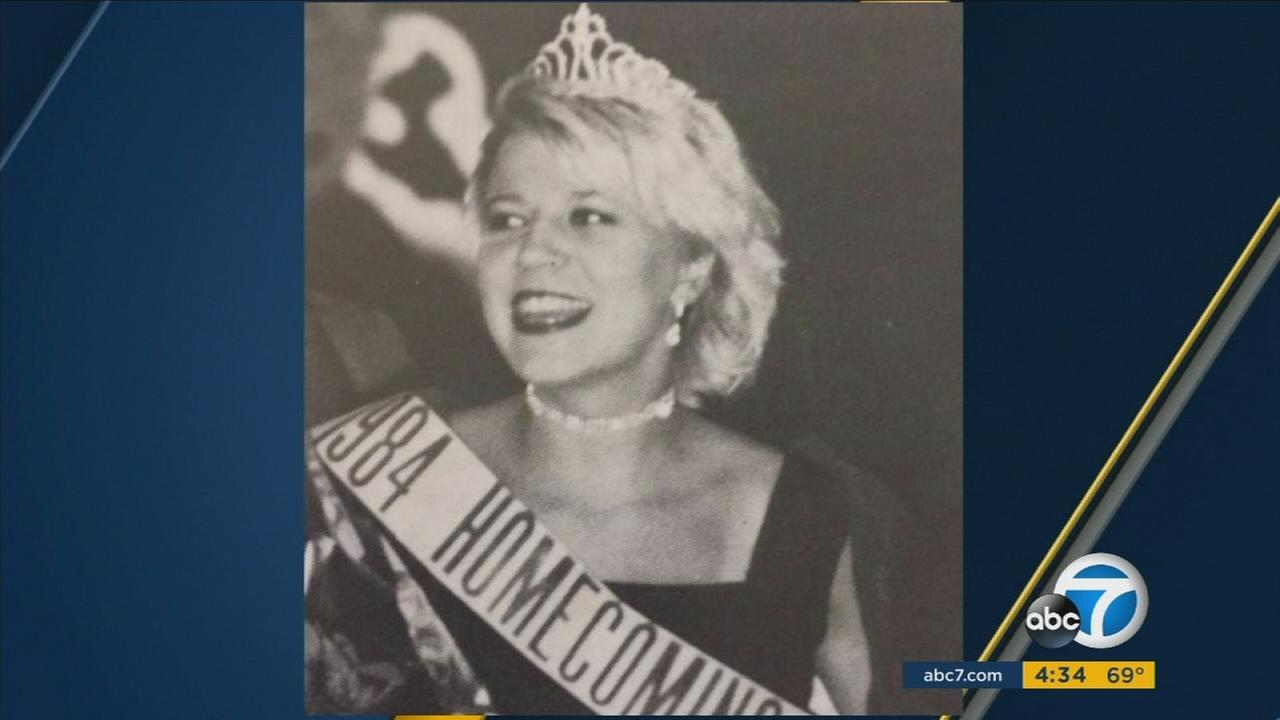 Michelle Pretzer, 47, is shown in a high school homecoming photo.