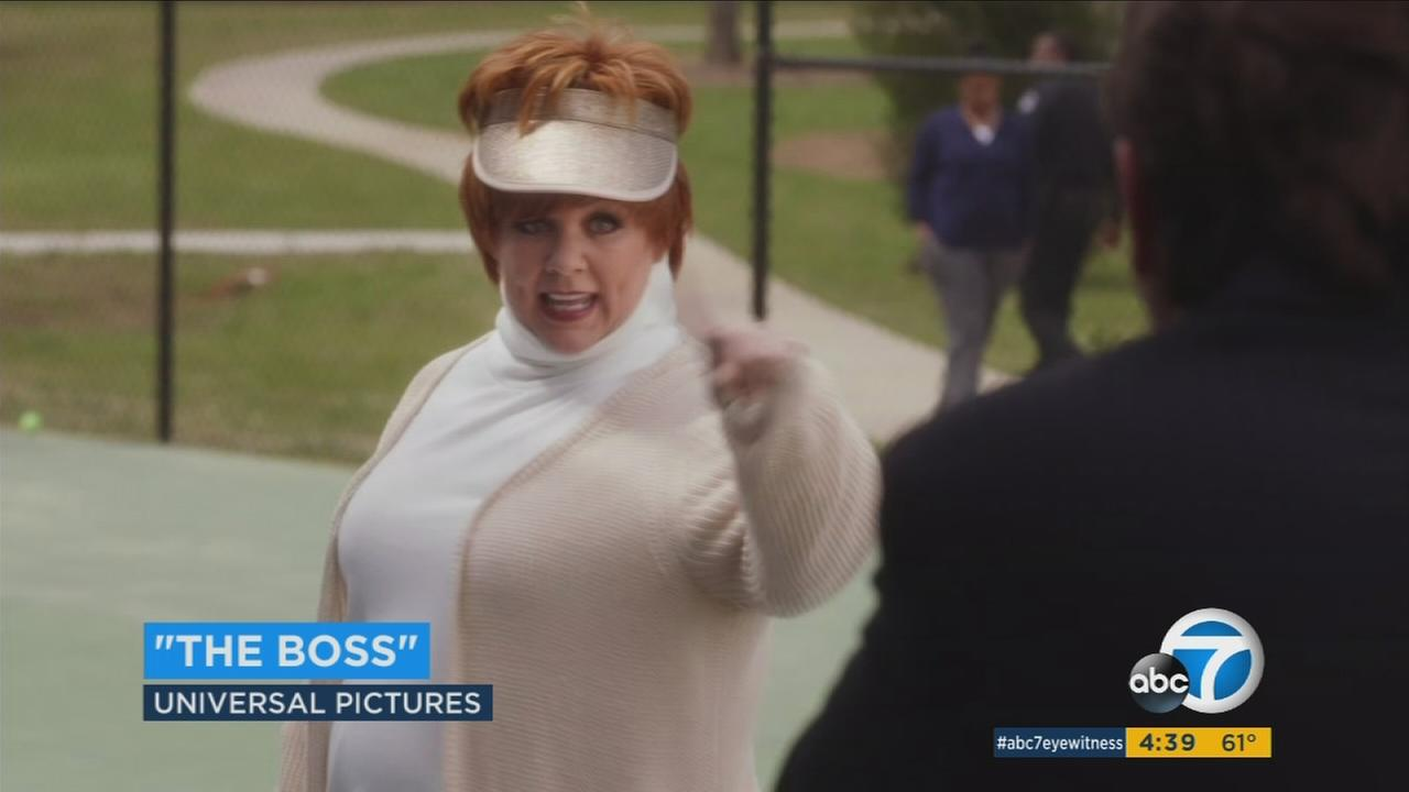 The Boss stars Melissa McCarthy as a tycoon character she created 15 years ago.