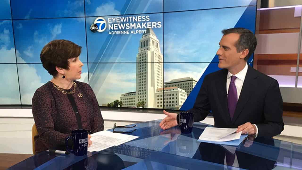 Eric Garcetti discussed the prospect of 14 days of electricity blackouts due to the gas leak at the Aliso Canyon gas storage facility, and answered viewer questions regarding ongoing city issues.
