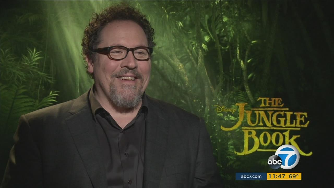 Jon Favreau, director of Disneys latest movie The Jungle Book, is shown during an undated interview.