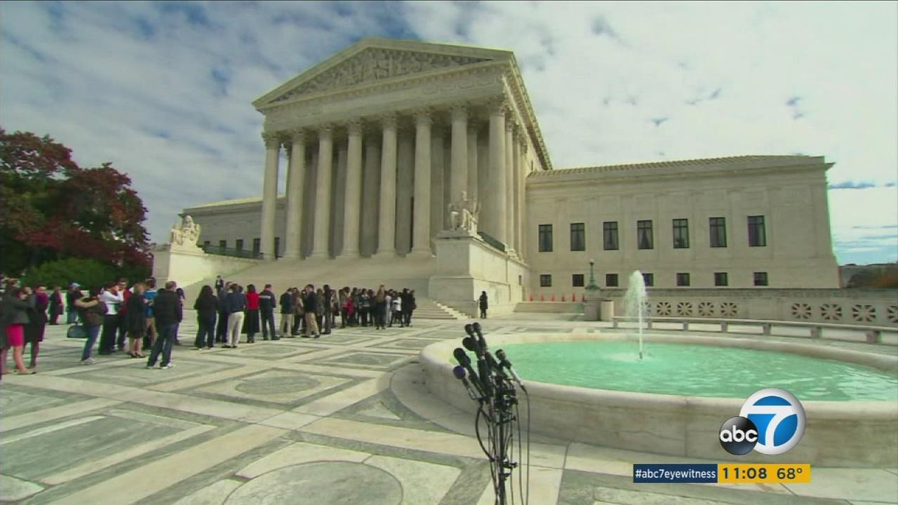 The United States Supreme Court appeared divided over President Barack Obamas immigration efforts.