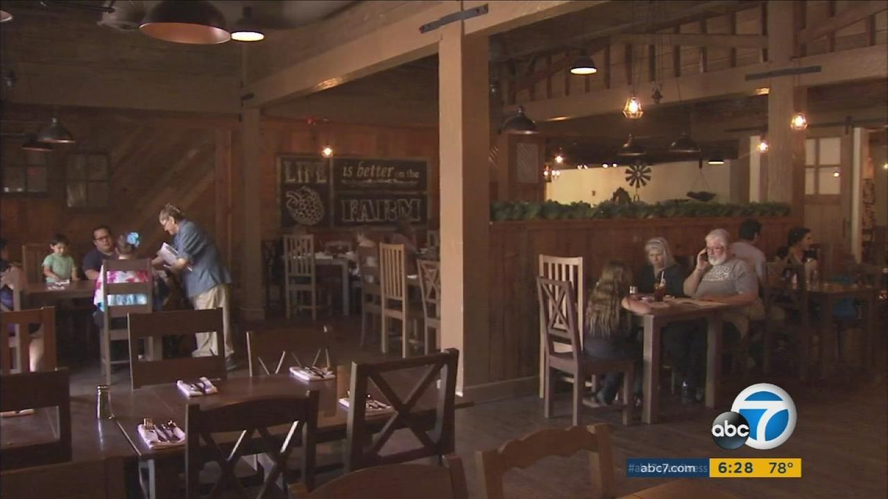 Mrs. Knotts Chicken Dinner Restaurant at Knotts Berry Farm has reopened after an expansion that allows seating for up to 800 people.