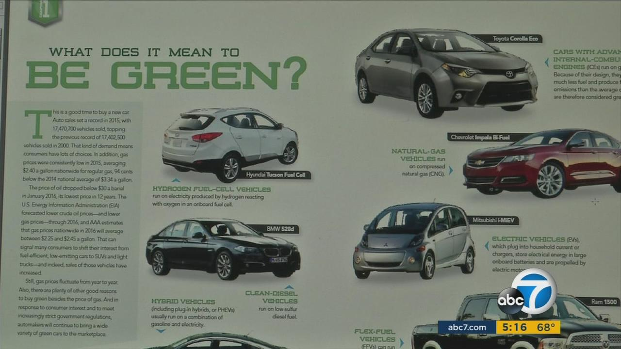 The Auto Clubs new green-car guide rates Teslas Model S and BMW i3 as the most environmentally-friendly vehicles.