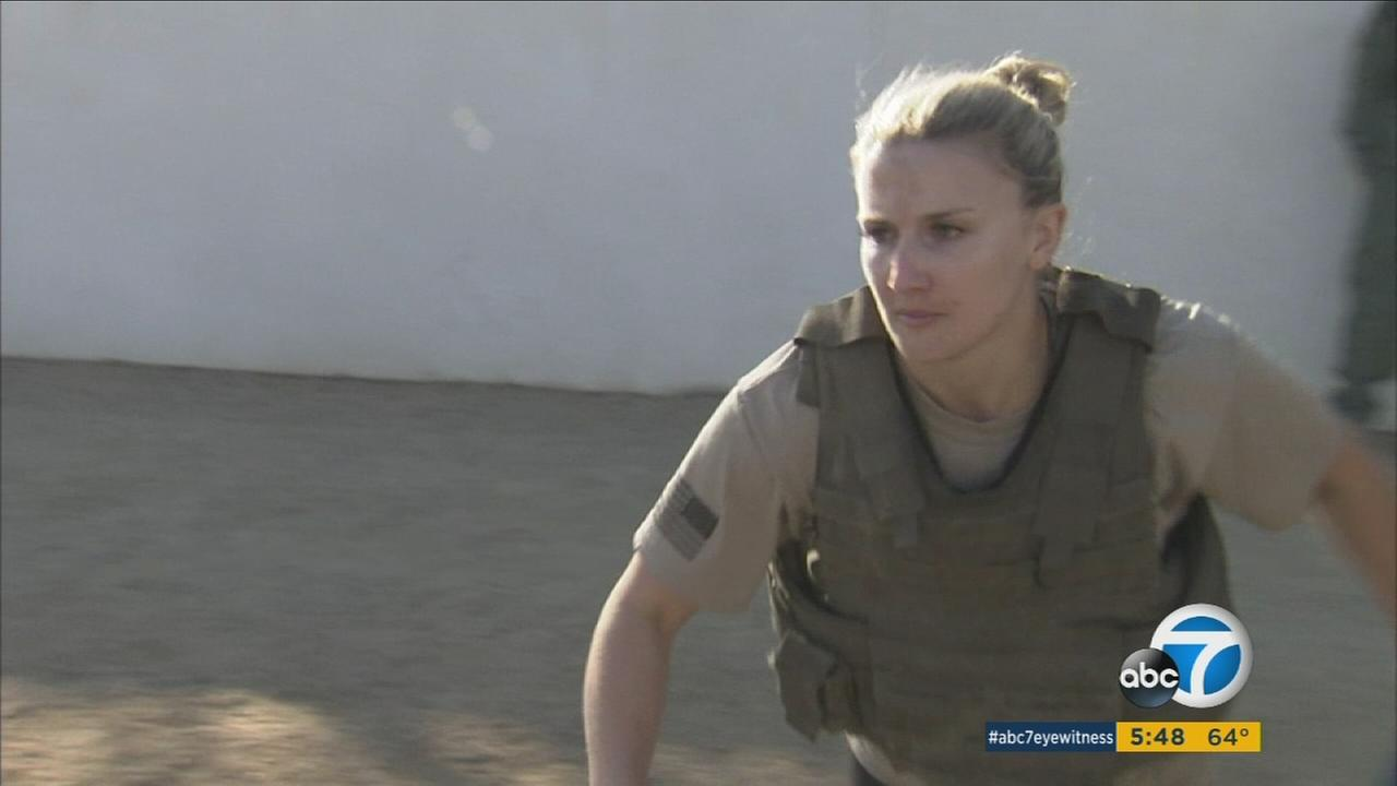 The Orange County Sheriffs Department recently held grueling tryouts for the SWAT team, including only the second female candidate in the last 17 years.