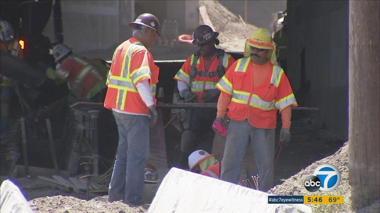 The closure of East Grand Boulevard near the 91 Freeway caused headaches for those in Corona.