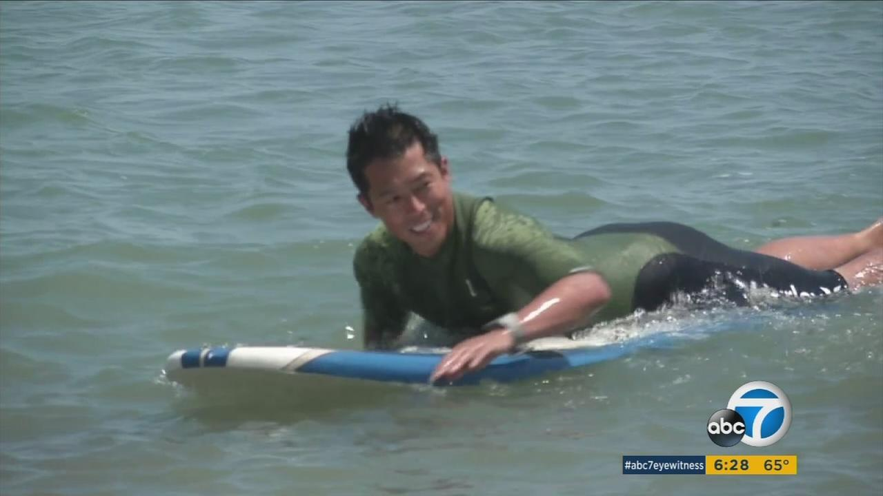 Orange County surf instructor Lamberto Lo has been approved to spread his love for surfing in North Korea.