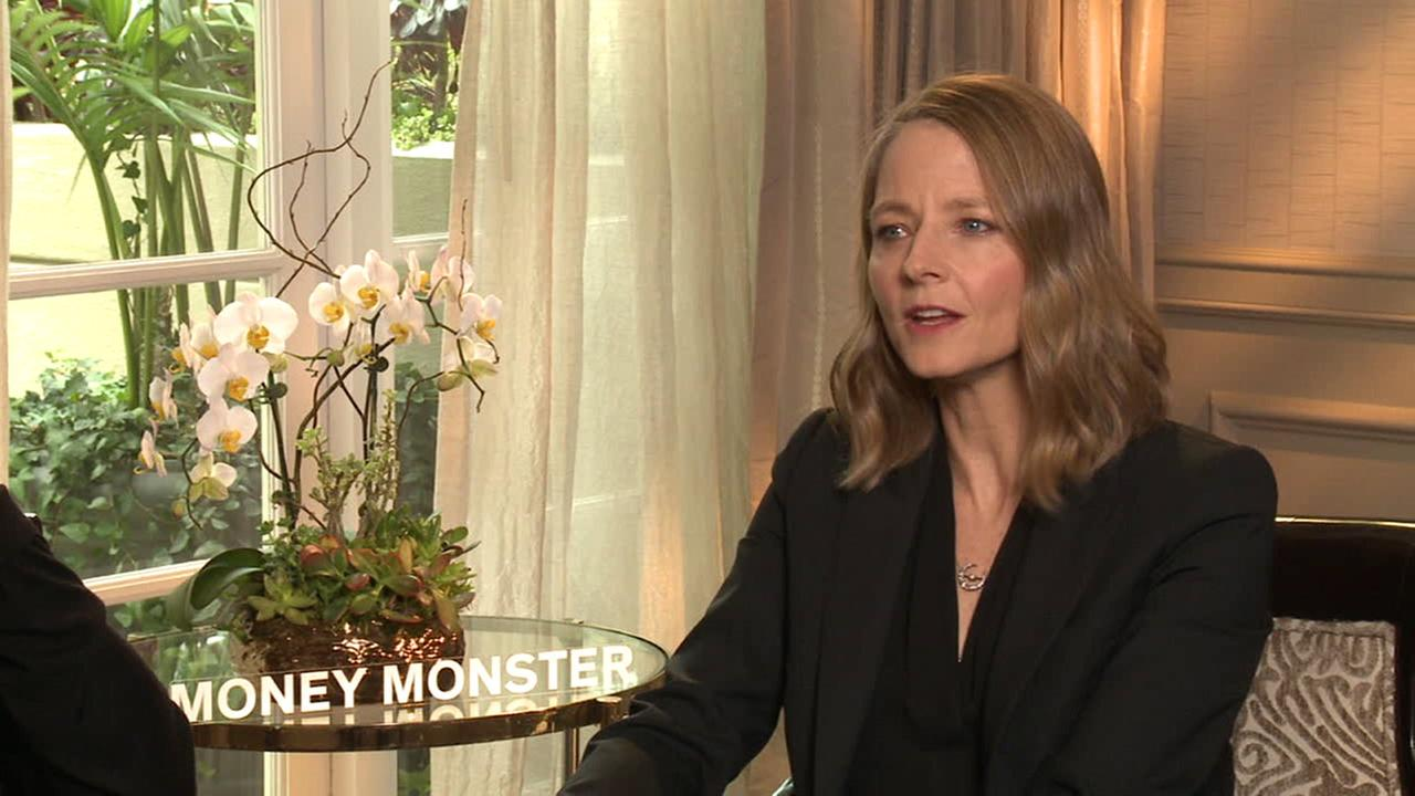 Jodie Foster speaks about her new movie Money Monster.