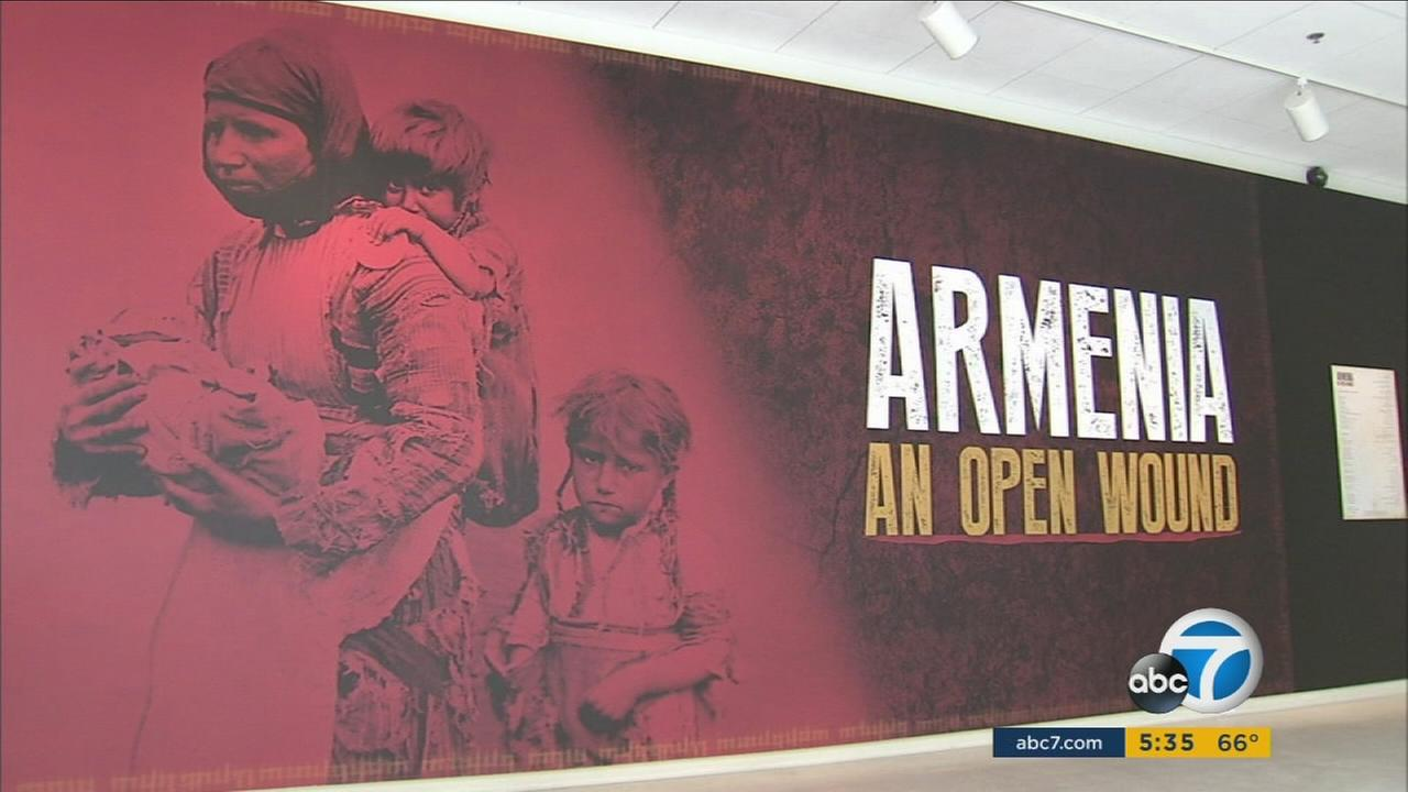 A museum exhibit in Glendale details the history and struggles of the Armenian people from the Old World to the New.