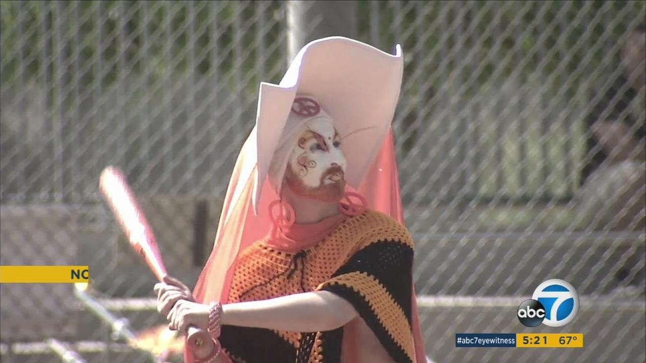 The 5th annual Drag Queen World Series, held in Glendale, raised money for a nonprofit that helps people with AIDS.