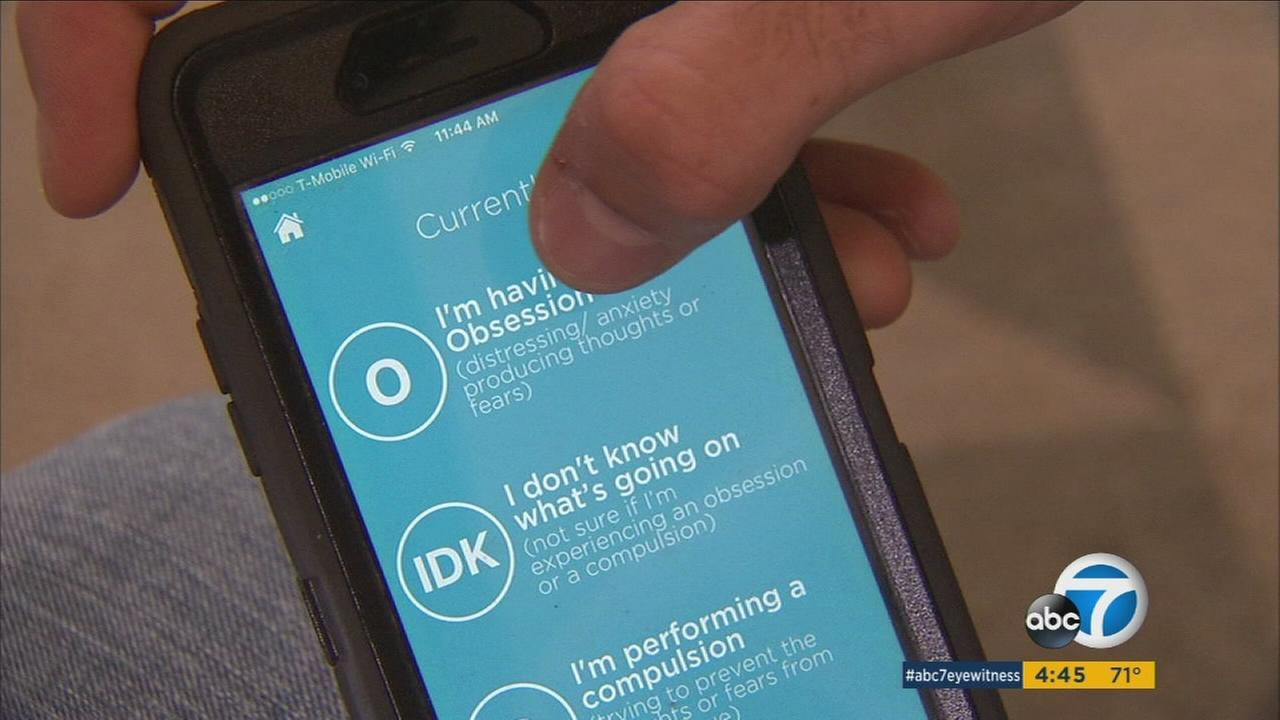 App provides therapy on-the-go for people with OCD
