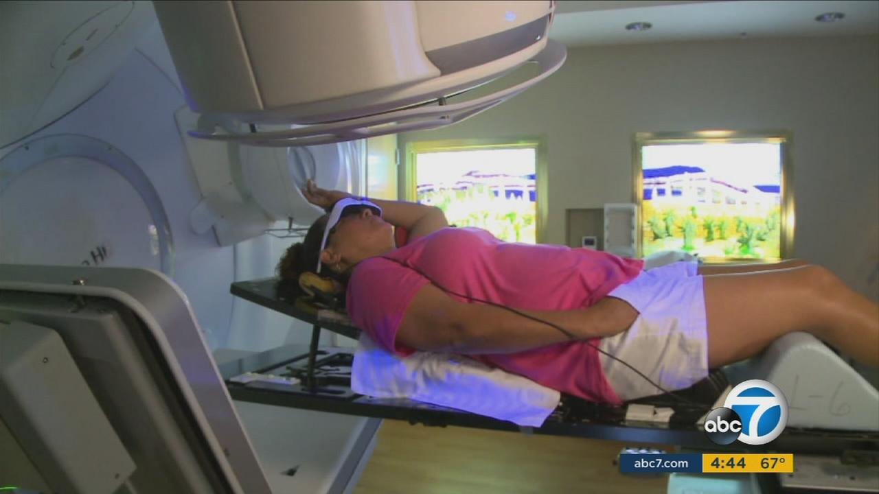 Doctors are teaching breast-cancer patients a breathing technique that can help reduce their hearts exposure to radiation.