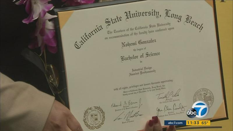 Parents of slain Paris attacks student accept her CSULB degree