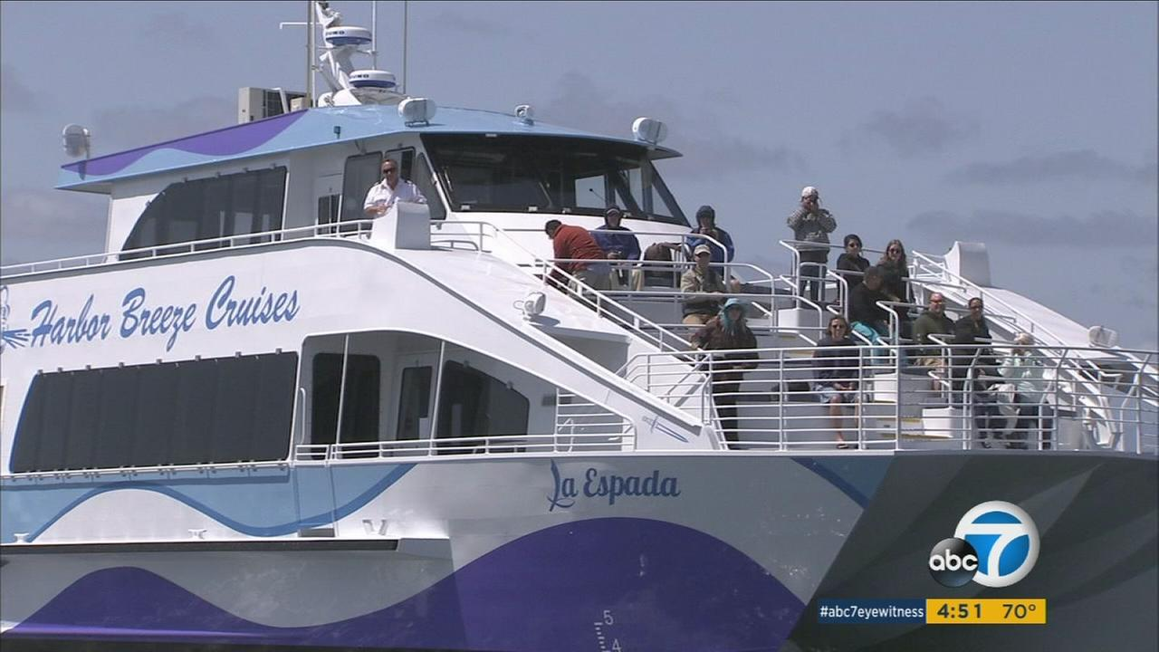 New green whale-watching boat debuts in Long Beach