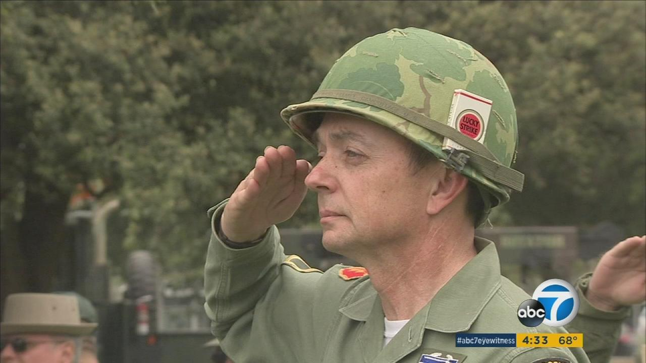 A special tribute to veterans and fallen military personnel was held in Arcadia Saturday morning as part of Memorial Day weekend.