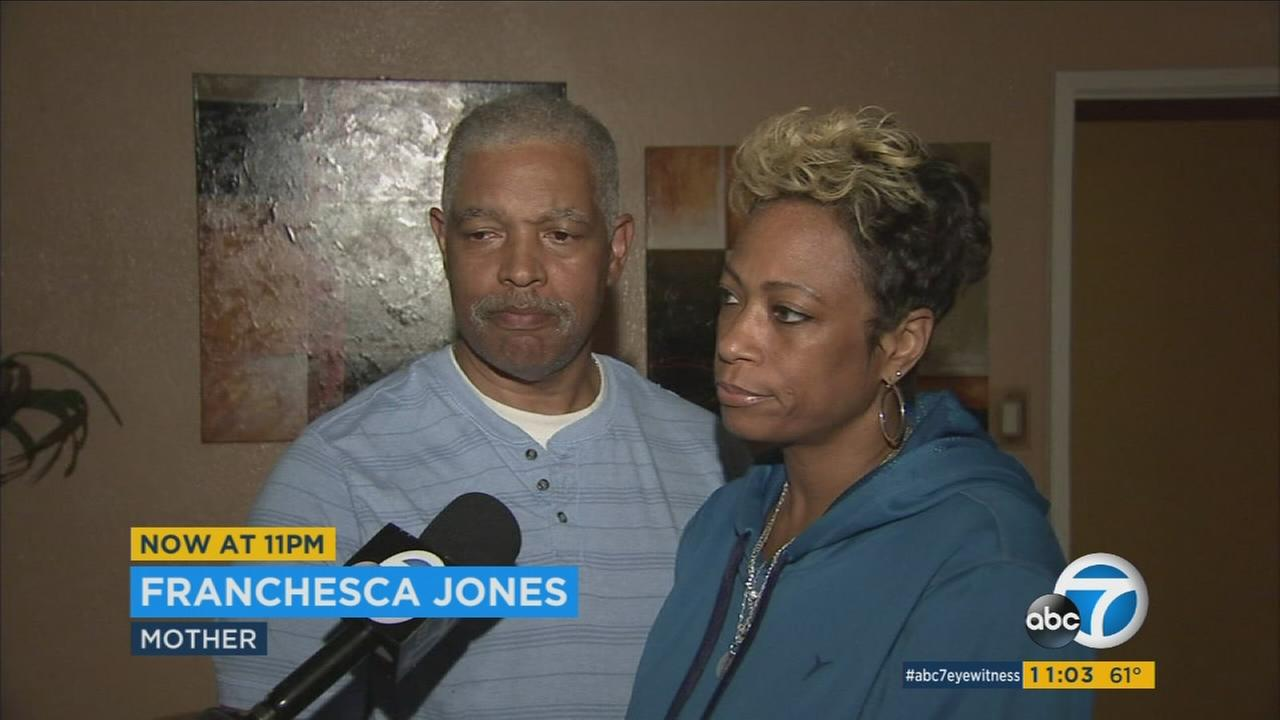 The parents of New Orleans Pelicans guard and former USC player Bryce Dejean-Jones are speaking about his death.
