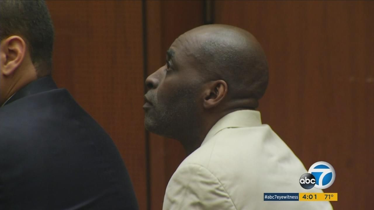 Actor Micheal Jace is seen in court in this undated photo.