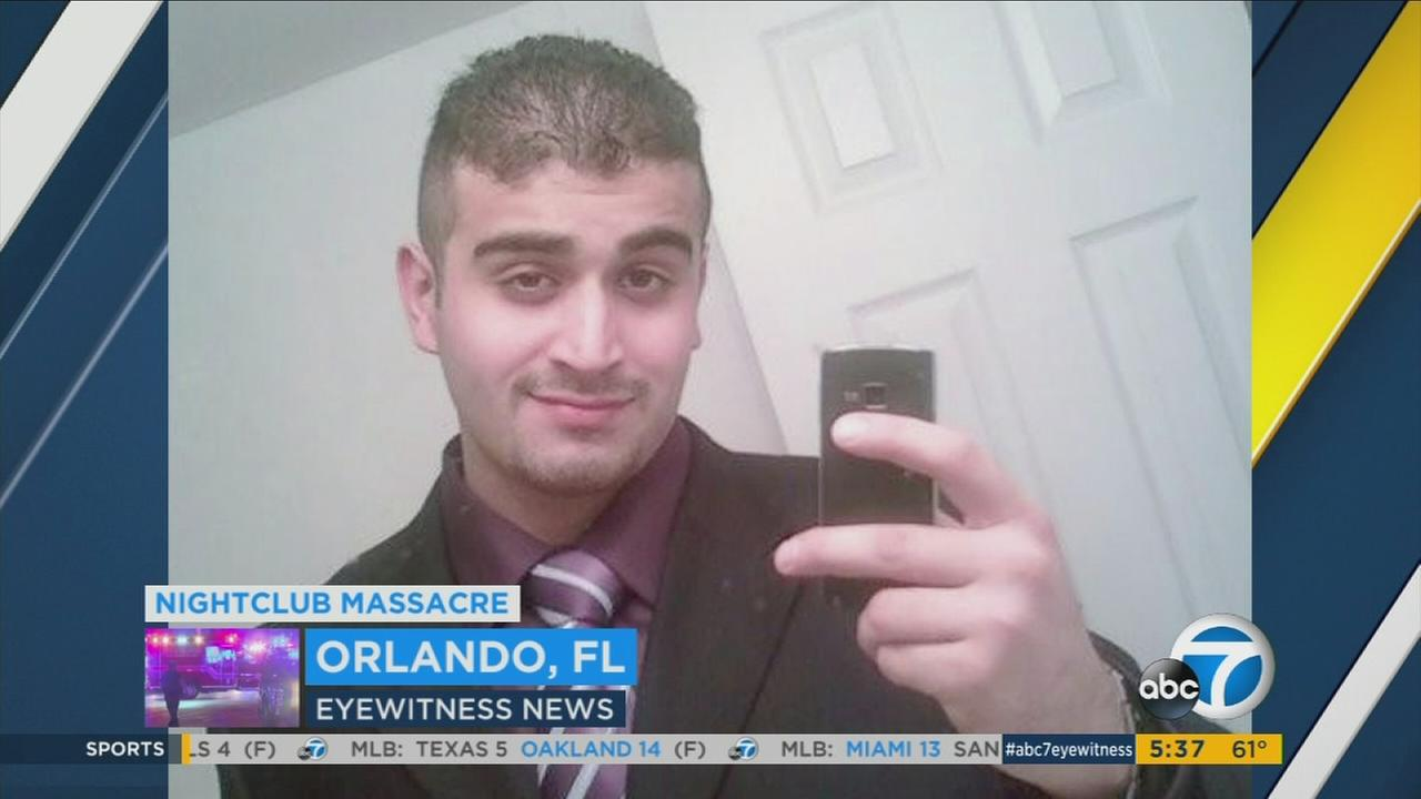 Omar Mateen, a 29-year-old man accused of killing 49 people at a Florida gay nightclub, is seen in an undated photo.