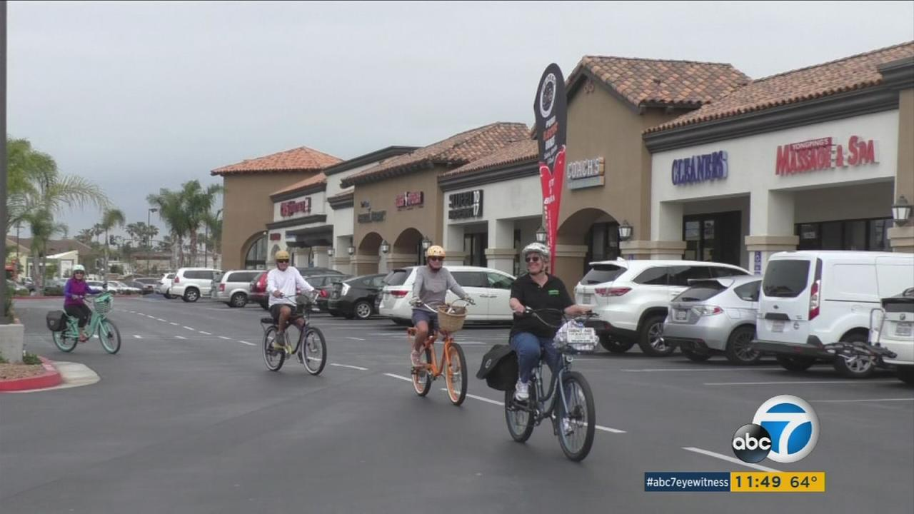 Medicare advantage program Caremore covers the cost of electric Pedego bikes so seniors can participate in free coastal rides.