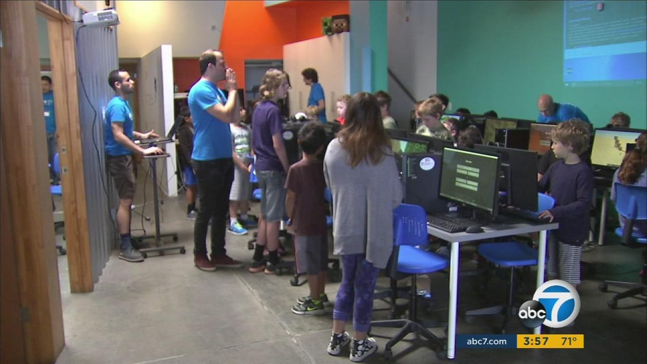 Summer camp teaching kids to become technologically savvy
