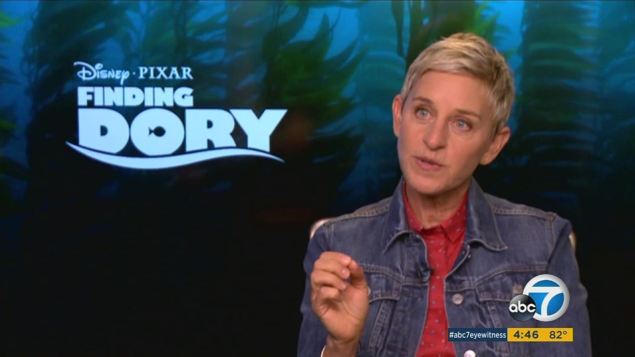 Ellen Degeneres talks about the release of Finding Dory.
