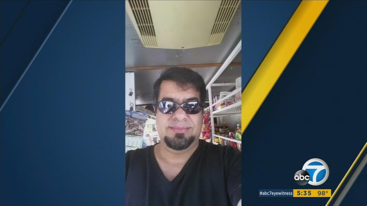 Eliu Armando Gramajo, 52, was shot to death while working in his food truck in Santa Ana on Sunday, June 19, 2016.