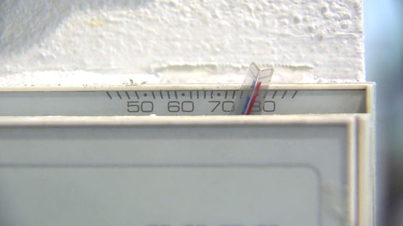 A thermostat is shown in an undated photo.