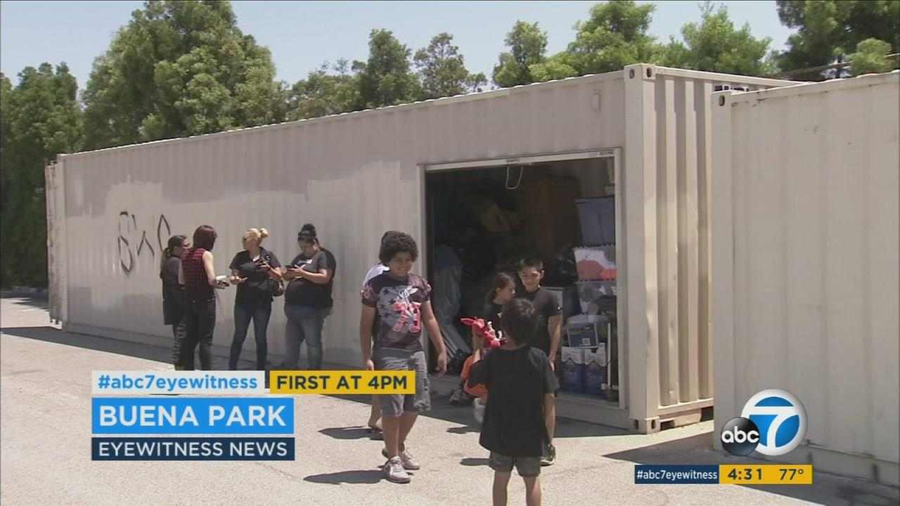 Some young football players in Orange County are devastated after thieves broke into a storage unit and stole thousands of dollars in equipment and clothing.