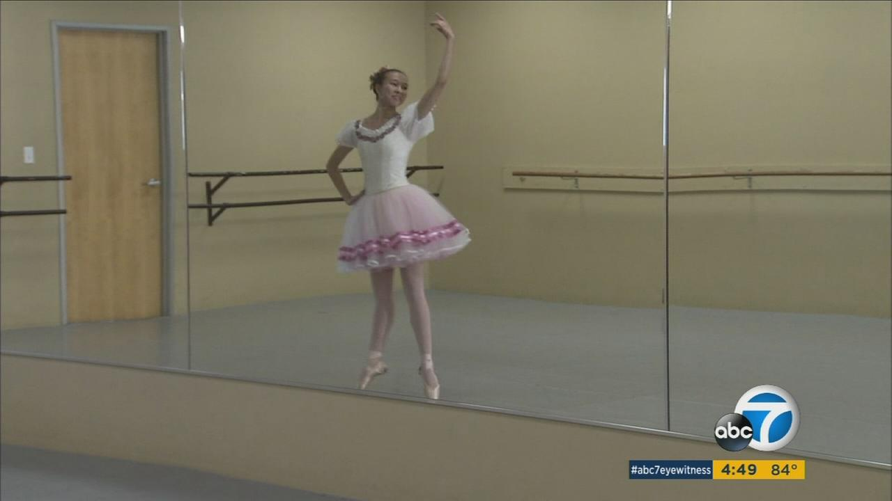 A Temecula teen beat out thousands of dancers in a worldwide competition, and now shes been accepted by the Royal Ballet School of London.