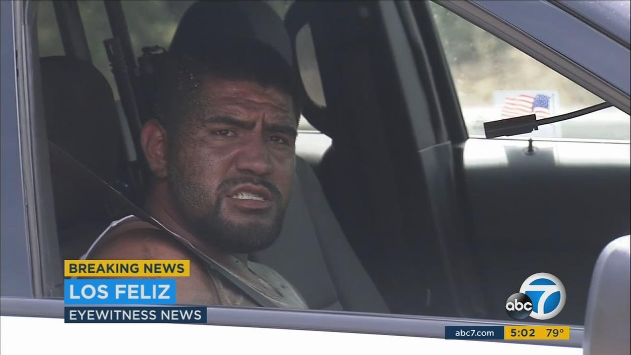 After a dangerous, high-speed chase on the 5 Freeway, a suspect told ABC7 the pickup truck he fled from police in wasnt really stolen: Its not mine, but I had the keys, he said.