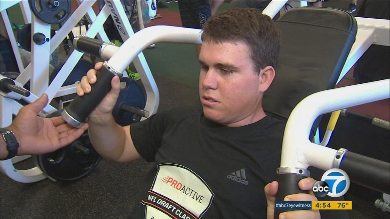 A Southern California teen suffering from a rare disease is serving as inspiration to pro athletes and others as he fights to make the most of every day.