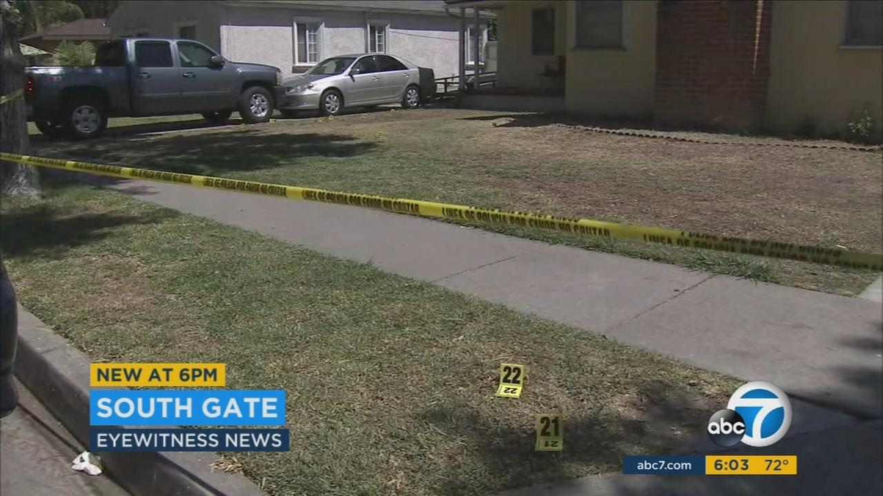 A woman was found with suspicious traumatic injuries in South Gate on Monday, July 4, 2016, according to the Los Angeles County Sheriffs Department.