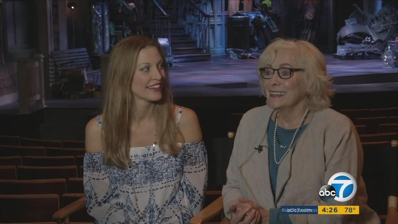 Betty Buckley and Rachel York star as mother and daughter in the musical Grey Gardens