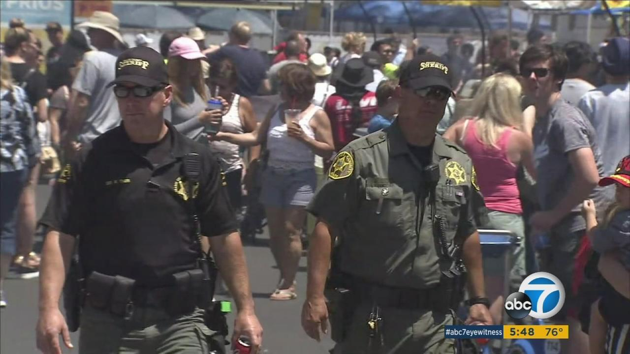 Big crowds were expected, as usual, for opening day of the Orange County Fair in Costa Mesa, and tight security will be in place.