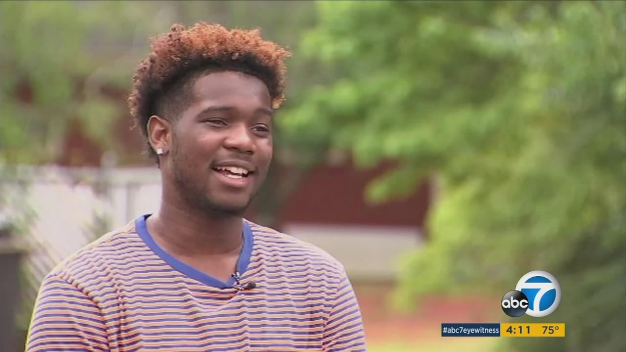 Homeless teenager Fred Barley, who was found sleeping in a tent outside a Georgia college after biking six hours to get there, is receiving an outpouring of help and support from across the country.