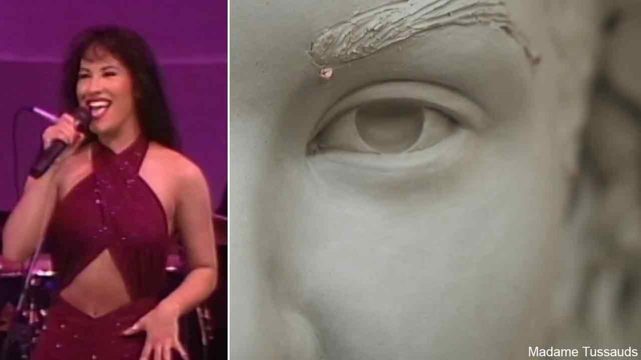 Madame Tussauds released a sneak peek of the wax figure dedicated to the late Tejano superstar Selena.