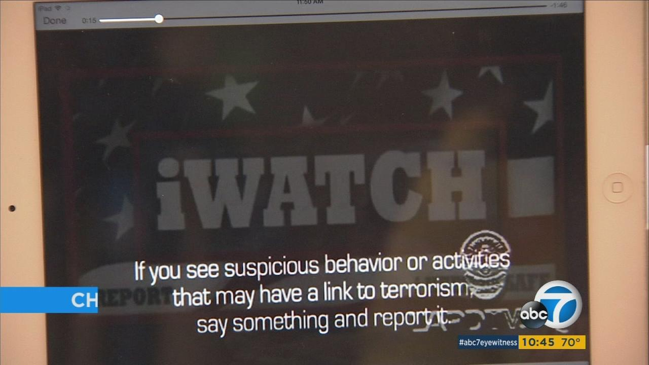 The Los Angeles Police Department is seeking community support for its iWatch app.