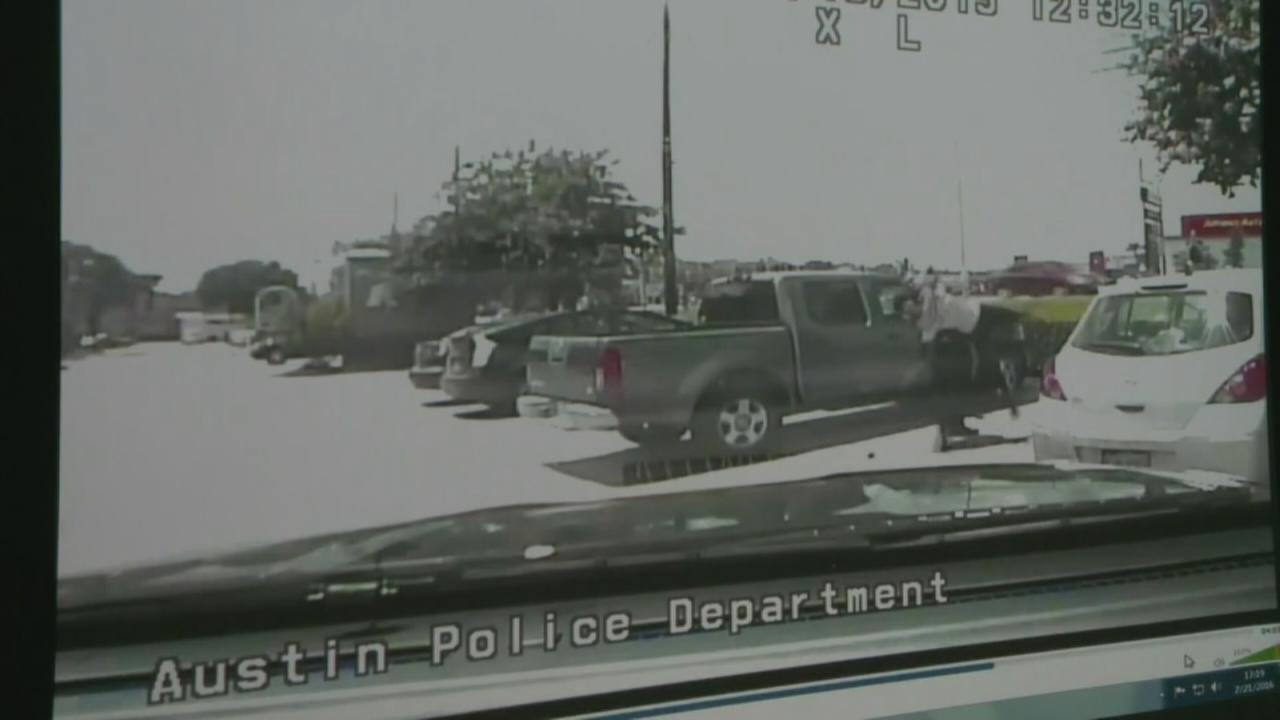 A video released by the Austin Police Department shows an officer slam a black woman to the ground twice while arresting her on June 15, 2015.