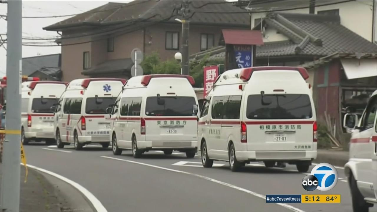 A knife attack at a facility for the handicapped in Sagamihara, Japan, left at least 15 people dead.