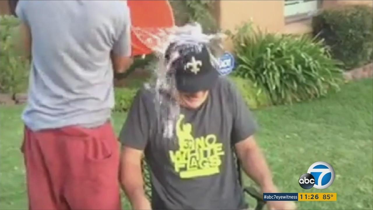 ABC7s Phillip Palmer was one of many thousands of people who participated in the Ice Bucket Challenge, which raised money that helped contribute to a new development in ALS research.