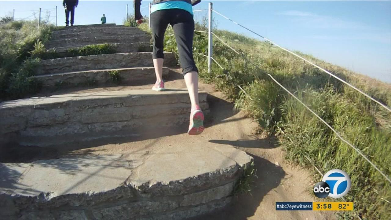 Los Angeles offers plenty of spots - some known, some hidden - for vigorous stair-climbing workouts.