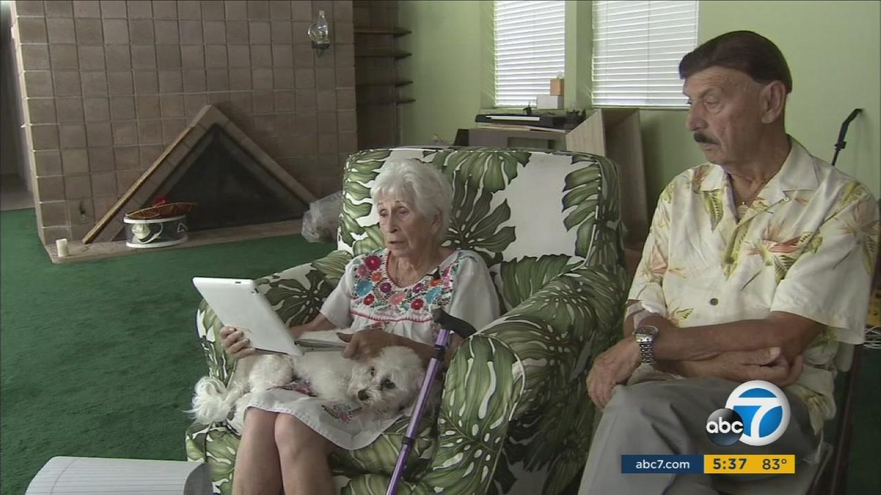 A Thousand Oaks couple in their 80s is losing their home after they said their grandson tricked them into signing away their title, then took out loans on the house and defaulted.