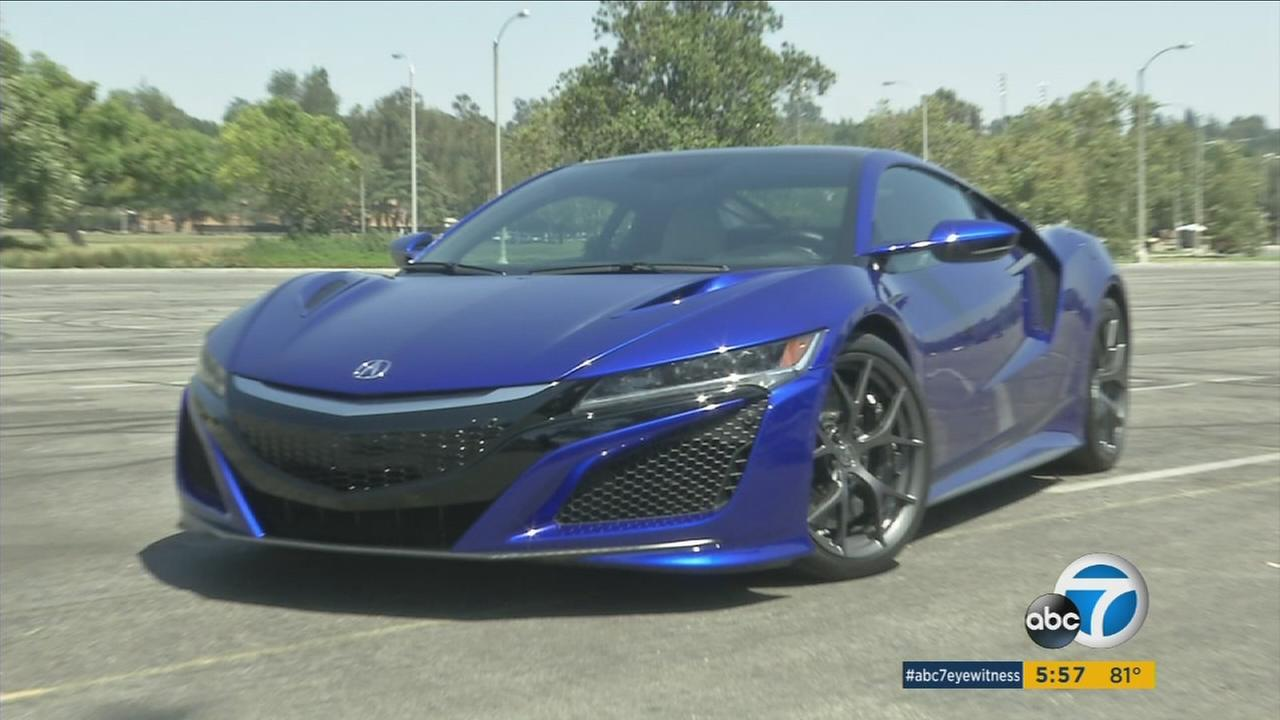 Hondas redesigned Acura NSX supercar offers 573 horsepower and a 0-60 time of 3 seconds - for a price tag starting at $156,000.