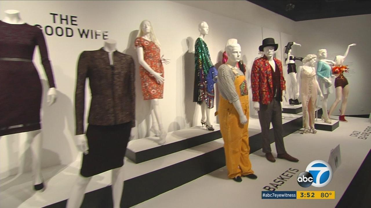 An exhibit of television costumes in downtown LA gives viewers a chance to see outfits from shows like Game of Thrones, Downton Abbey and Empire.
