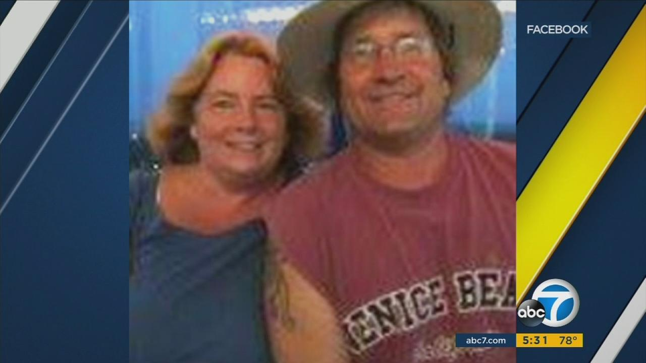 Drew Ketter, right, and his wife Joanne are seen in this photo from Facebook.